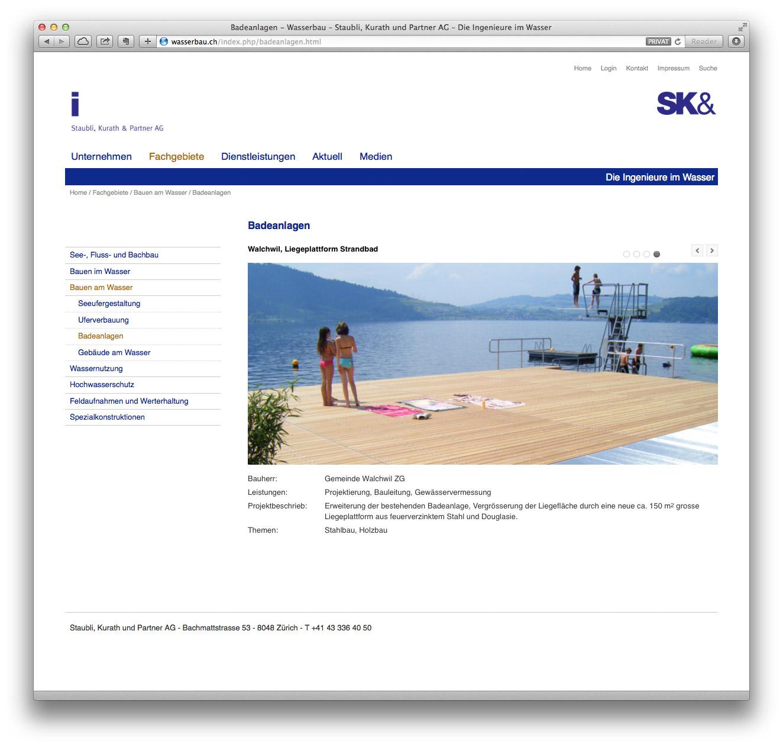 wasserbau, ingenieurbüro, webdesign